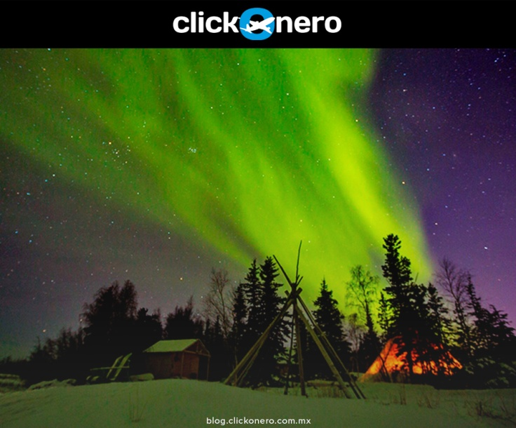 auroras en yellowknife